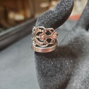 New sterling silver spoon ring